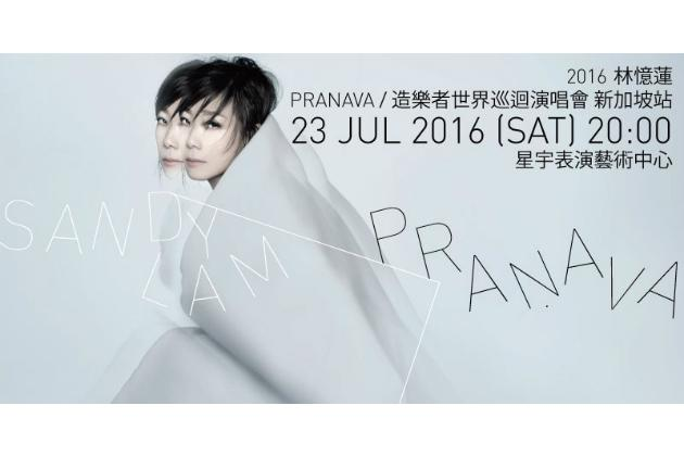 """<p><b><a rel=""""nofollow"""" href=""""http://www.sistic.com.sg/events/sandy0716"""">2016 Sandy Lam Pranava World Tour in Singapore</a></b><br /></p><p>Cantopop queen Sandy Lam is back with her 30th anniversary world tour. The songstress, whose extensive oeuvre spans from love ballads to energetic dance tracks, is set to rock the theatre with hits like 'At Least I Still Have You' as well as tracks from recent album Pranava. </p><p>When: 23 July, 8pm</p><p>Where: The Star Theatre</p><p>Prices: $98 to $228</p>"""
