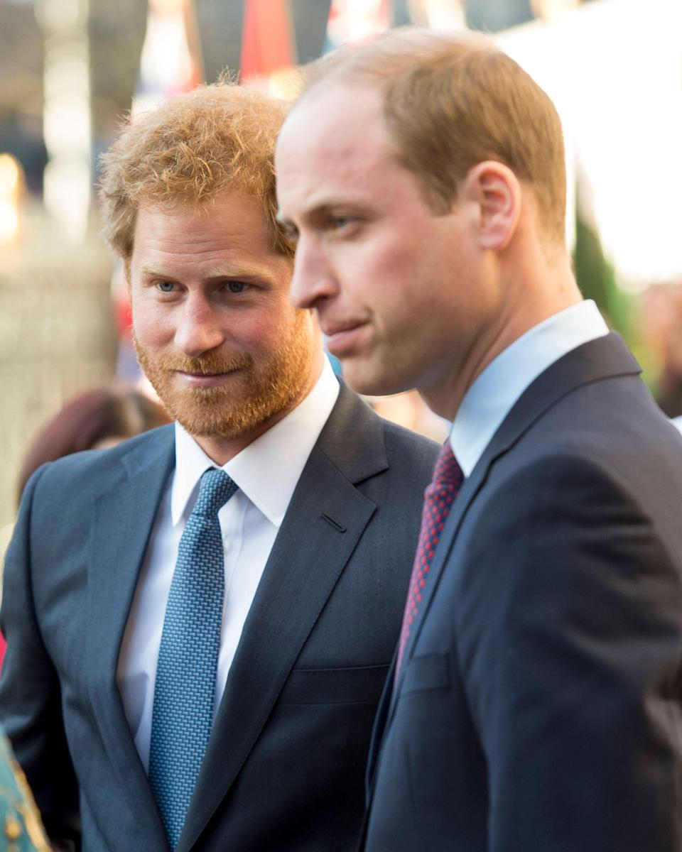 One royal author claims to know what started the rift between Prince Harry and Prince William. Photo: Getty Images