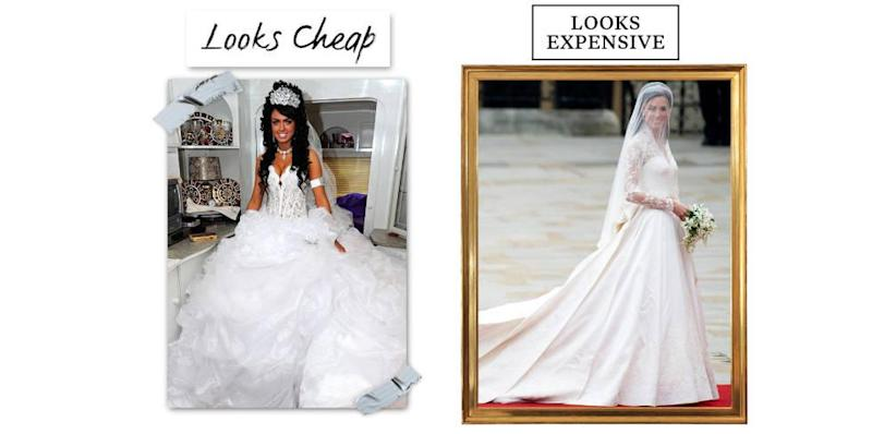 10 Reasons Your Wedding Dress Looks Cheap