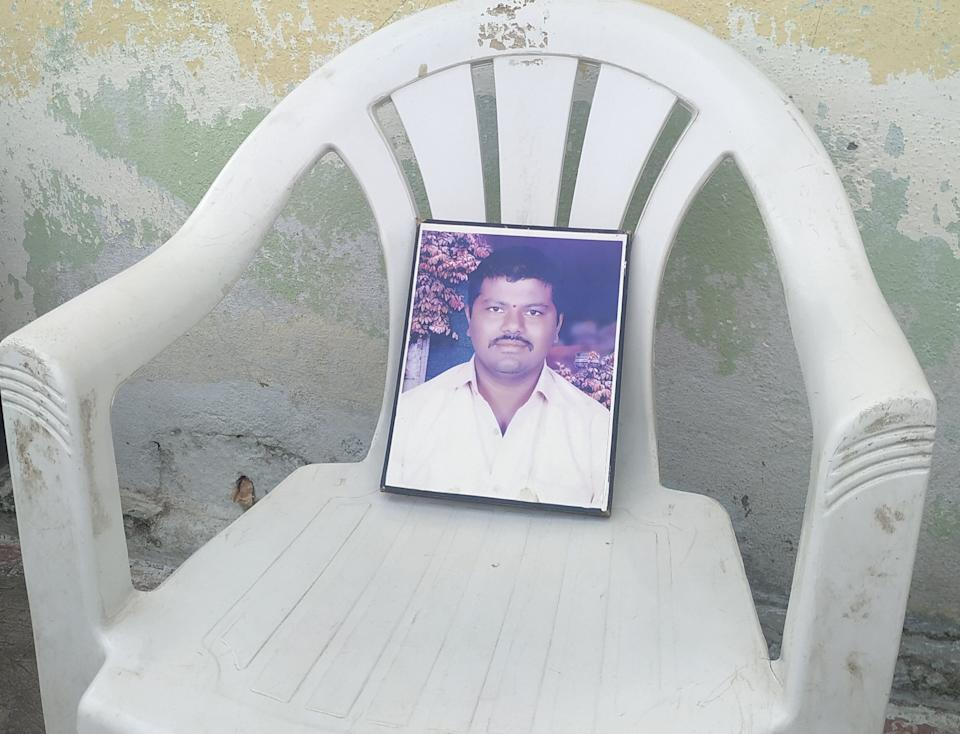 A photo of Kura Suresh.While the real estate boom brought joy and riches to many, those in possession of disputed land – like Suresh's family – were left out. (Photo: Image procured by the author)