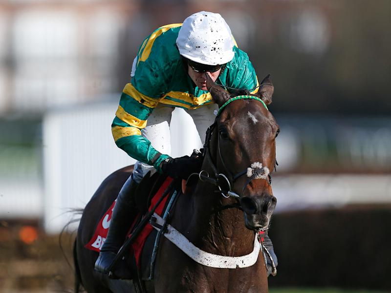 Barry Geraghty broke his right arm in a fall at Market Rasen last July: Getty