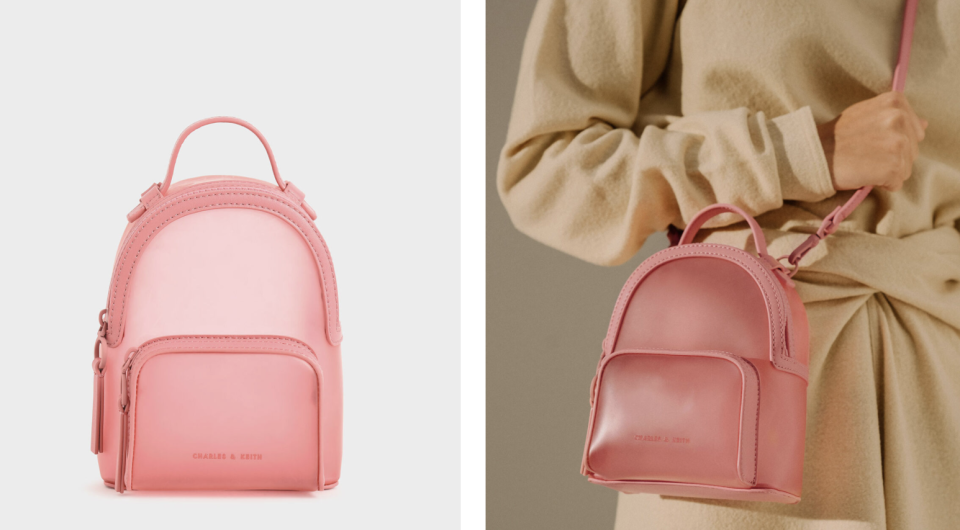 PHOTO: Charles & Keith. See-Through Backpack