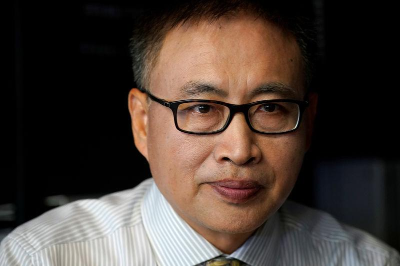 FILE PHOTO: Chery Automobile Co Ltd CEO Chen Anning attends an interview with Reuters in Shanghai