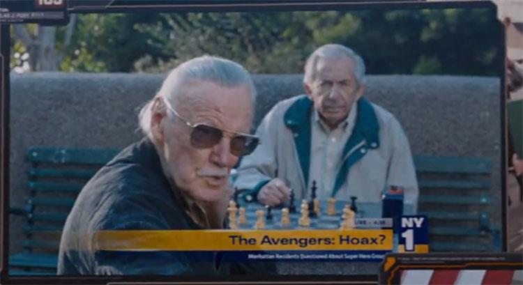 Stan Lee's 'Avengers Assemble' cameo (credit: Marvel)