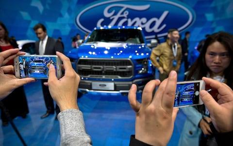 A Ford event - Credit: AP