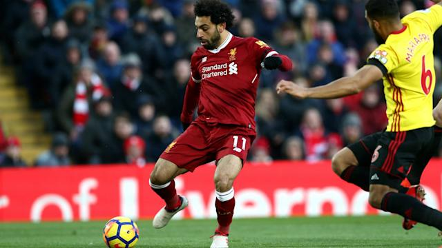The Egyptian attacker etched his name into another chapter of Liverpool's history books as he continues his stunning debut season at Anfield