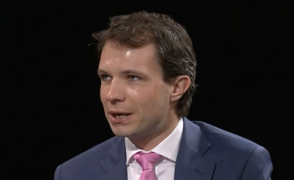 Andrew Bowie: 'Am I going to sit here and say Brexit is perfect, and that your generation is going to reap the benefits? No, I'm not.' (BBC)