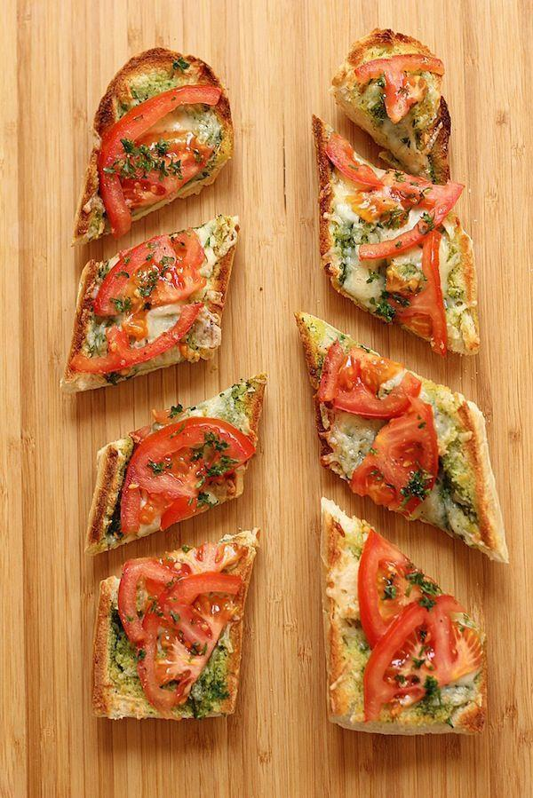 """<p>Losing a slice of bread allows you to get to the cheese that much quicker.</p><p>Get the recipe from <a href=""""http://greenvalleykitchen.com/open-faced-grilled-cheese-with-tomato/"""" rel=""""nofollow noopener"""" target=""""_blank"""" data-ylk=""""slk:Green Valley Kitchen"""" class=""""link rapid-noclick-resp"""">Green Valley Kitchen</a>.</p>"""