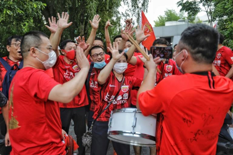 China to allow first football fans in stadiums since coronavirus