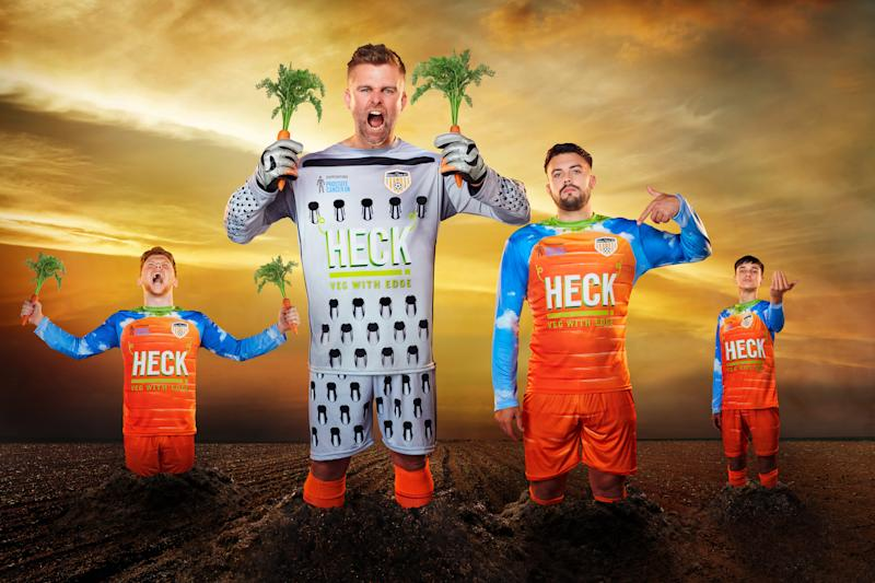Bedale's new carrot-themed kit