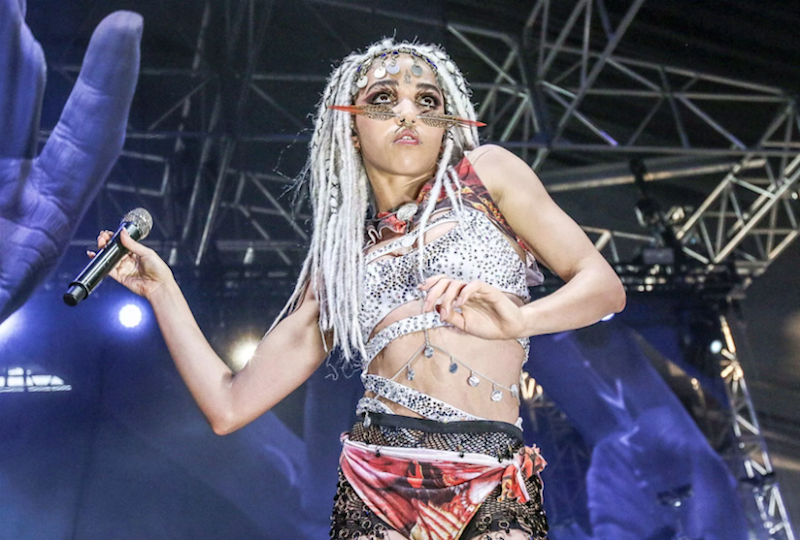 """FKA twigs partners with Future for new single """"Holy Terrain"""": Stream"""