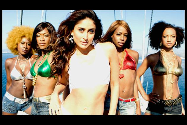 Bebo set the trend with size zero in Tashan - and this is not the only flick in which she has flaunted her toned body.