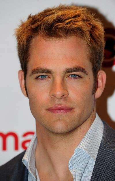 Chris Pine arrives at a Paramount Pictures and DreamWorks Animation event at Caesars Palace during the opening night of CinemaCon, the official convention of the National Association of Theatre Owners, Las Vegas, on April 23, 2012 -- Getty Premium