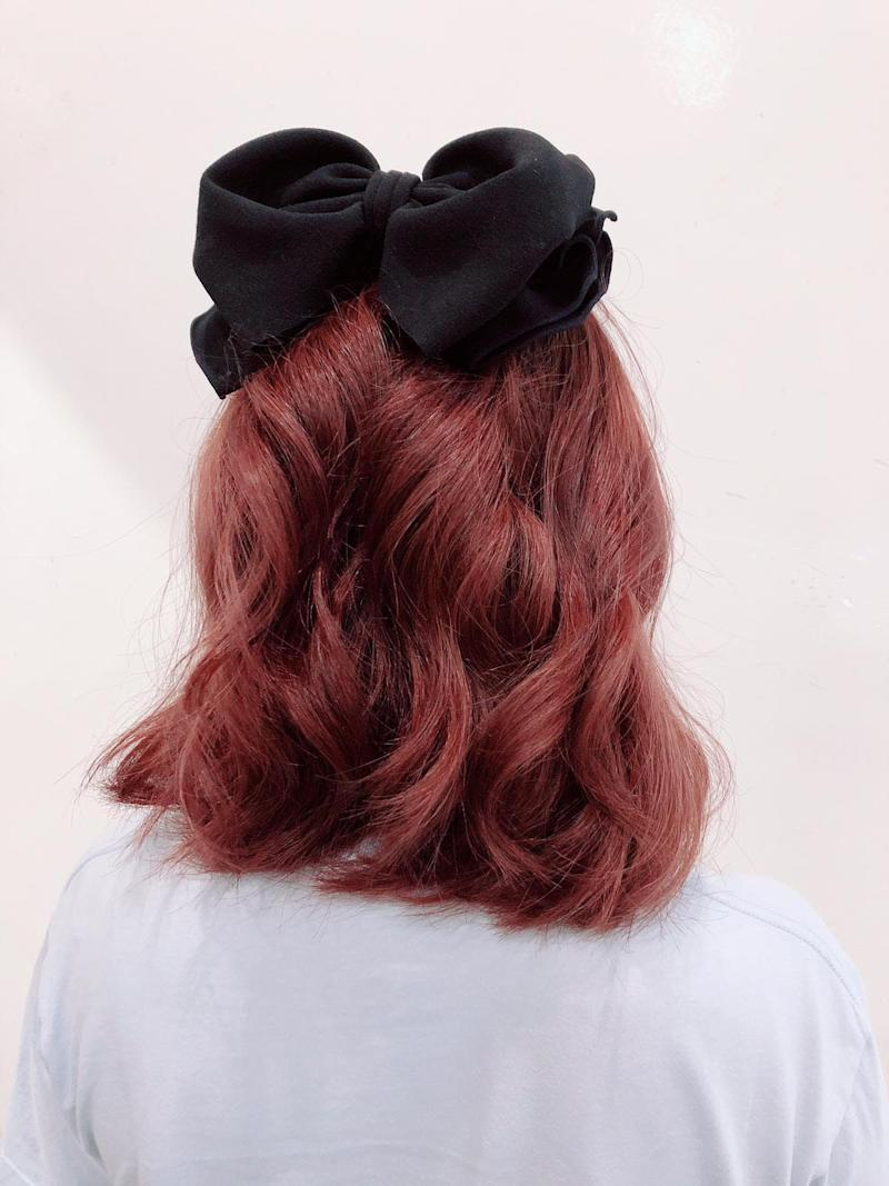 Red & Orange Hair Colour by Pro Trim @ Jurong East JEM