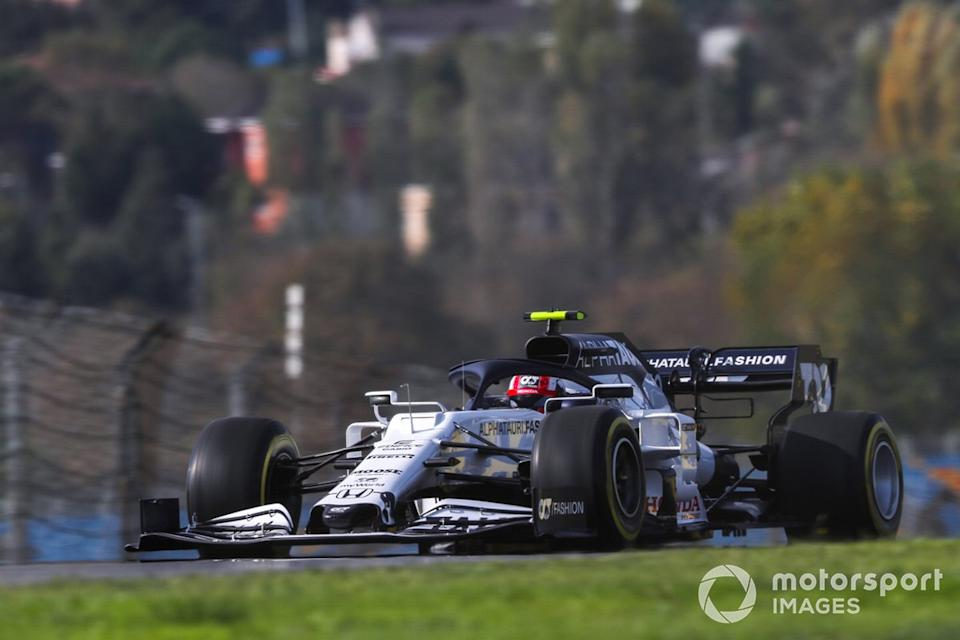"""Pierre Gasly, AlphaTauri AT01<span class=""""copyright"""">Charles Coates / Motorsport Images</span>"""