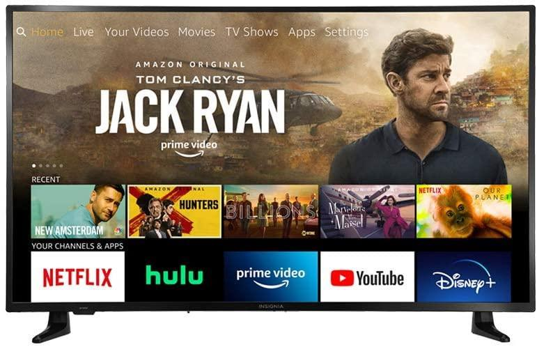 This Insignia TV has built-in Fire TV. (Photo: Amazon)