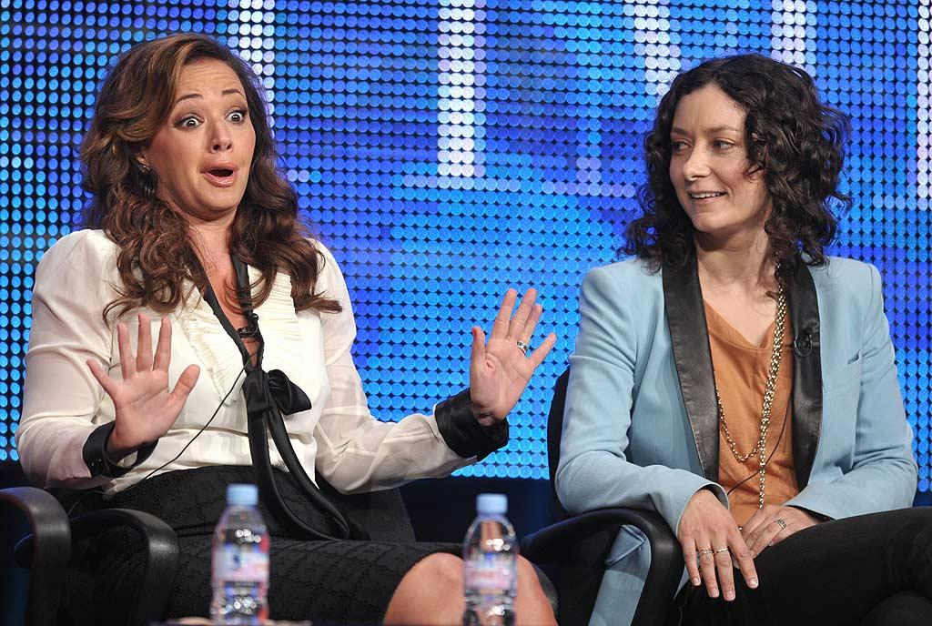 "A new gossip fest to rival ""The View""? CBS announced the launch of its daytime chat show, ""The Talk,"" starring Leah Remini, Sara Gilbert, Sharon Osbourne, and more, at the summer TCAs Wednesday. John Shearer/<a href=""http://www.wireimage.com"" target=""new"">WireImage.com</a> - July 28, 2010"