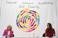 <p>The Duchess of Cambridge and the First Lady participated on a panel, focused on early childhood education. The speakers included experts from both the United States and United Kingdom. </p>