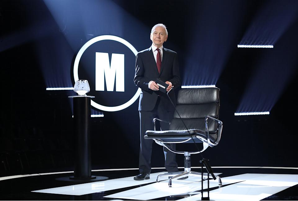 John Humphrys is hosting his final series of Mastermind. (BBC/Hindsight/Hat Trick Productions Ltd/Kelvin Boyes)