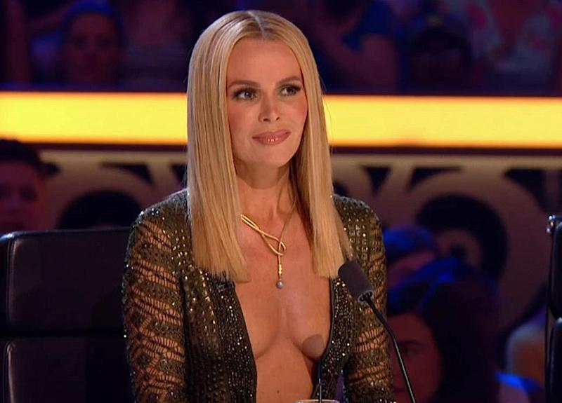 Amanda Holden's outfits on 'Britain's Got Talent' sparked complaints to broadcasting regulator Ofcom. (Credit: ITV)