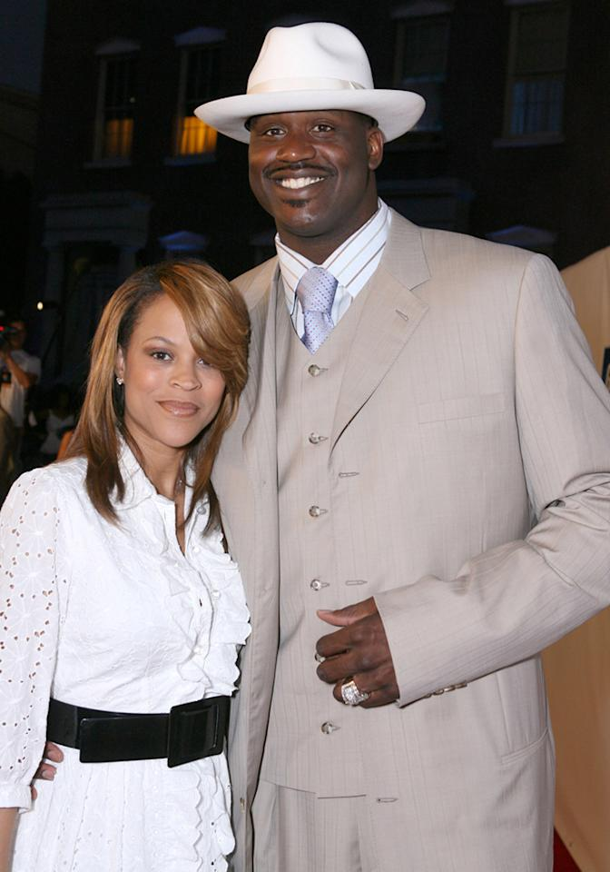 "After almost five years of marriage and four kids, NBA star Shaquille O'Neal filed for divorce from his wife Shaunie in September. Alexandra Wyman/<a href=""http://www.wireimage.com"" target=""new"">WireImage.com</a> - July 11, 2006"