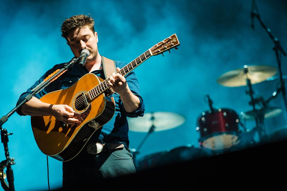 Mumford and Sons are unhappy at what some of their fans are being expected to pay in extras (Mauricio Santana/Getty Images)
