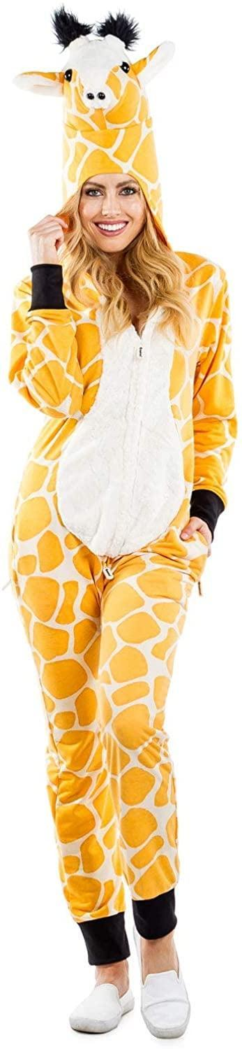 <p>This <span>Tipsy Elves Giraffe Costume</span> ($60) is too funny.</p>