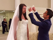 """<p>There are a lot of components that go into a bridal look and lucky for <em>SYTTD</em> brides, Kleinfeld has it all. From tiaras and embellished sashes to fur shrugs and crystal hair pieces, the <a href=""""https://www.businessinsider.com/what-kleinfeld-say-yes-to-the-dress-is-like-photos-2019-6"""" rel=""""nofollow noopener"""" target=""""_blank"""" data-ylk=""""slk:consultants can help"""" class=""""link rapid-noclick-resp"""">consultants can help</a> shape your entire bridal look. </p>"""