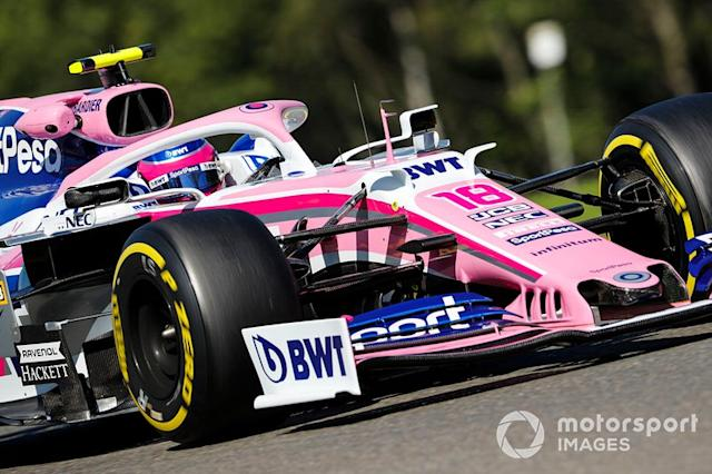 "Lance Stroll, Racing Point RP19 <span class=""copyright"">Steven Tee / LAT Images</span>"