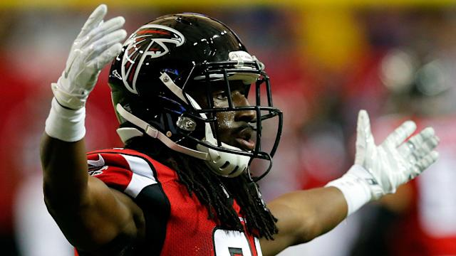 The Falcons' DB missed Sunday's game against the Vikings.