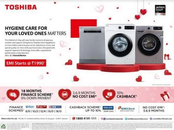 Toshiba Valentine Day offer