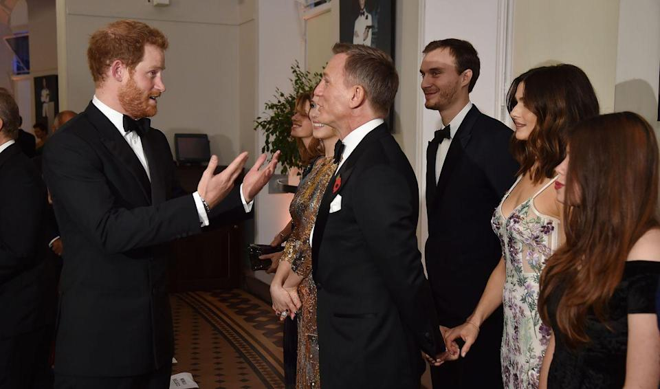 """<p>The receiving lines for royals are very carefully planned and sometimes there's no time for plus-ones to say hello. That's why additional guests <a href=""""https://www.youtube.com/watch?v=TXr4vNrsgEQ&feature=youtu.be"""" rel=""""nofollow noopener"""" target=""""_blank"""" data-ylk=""""slk:must stand behind the celebrity"""" class=""""link rapid-noclick-resp"""">must stand behind the celebrity</a> who was invited to the event.</p>"""