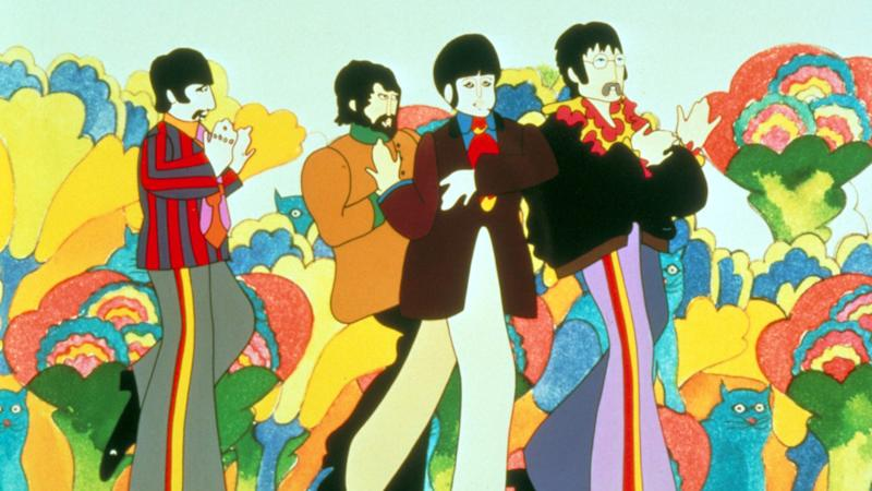 The Beatles, Yellow Submarine - 1968 (Credit REX/Shutterstock (1933403c)