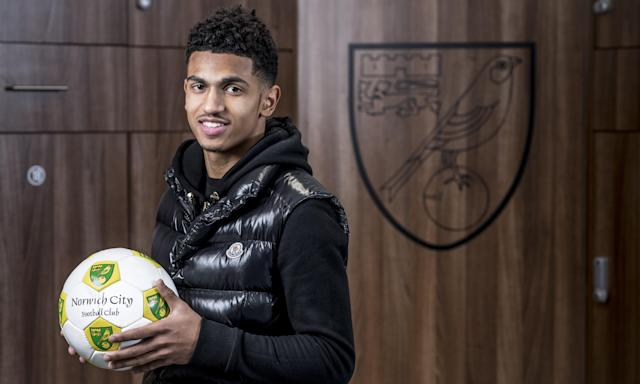 Marcus Edwards, 19, has showed plenty of promise at Tottenham but will spend the rest of the season on loan at Norwich City.