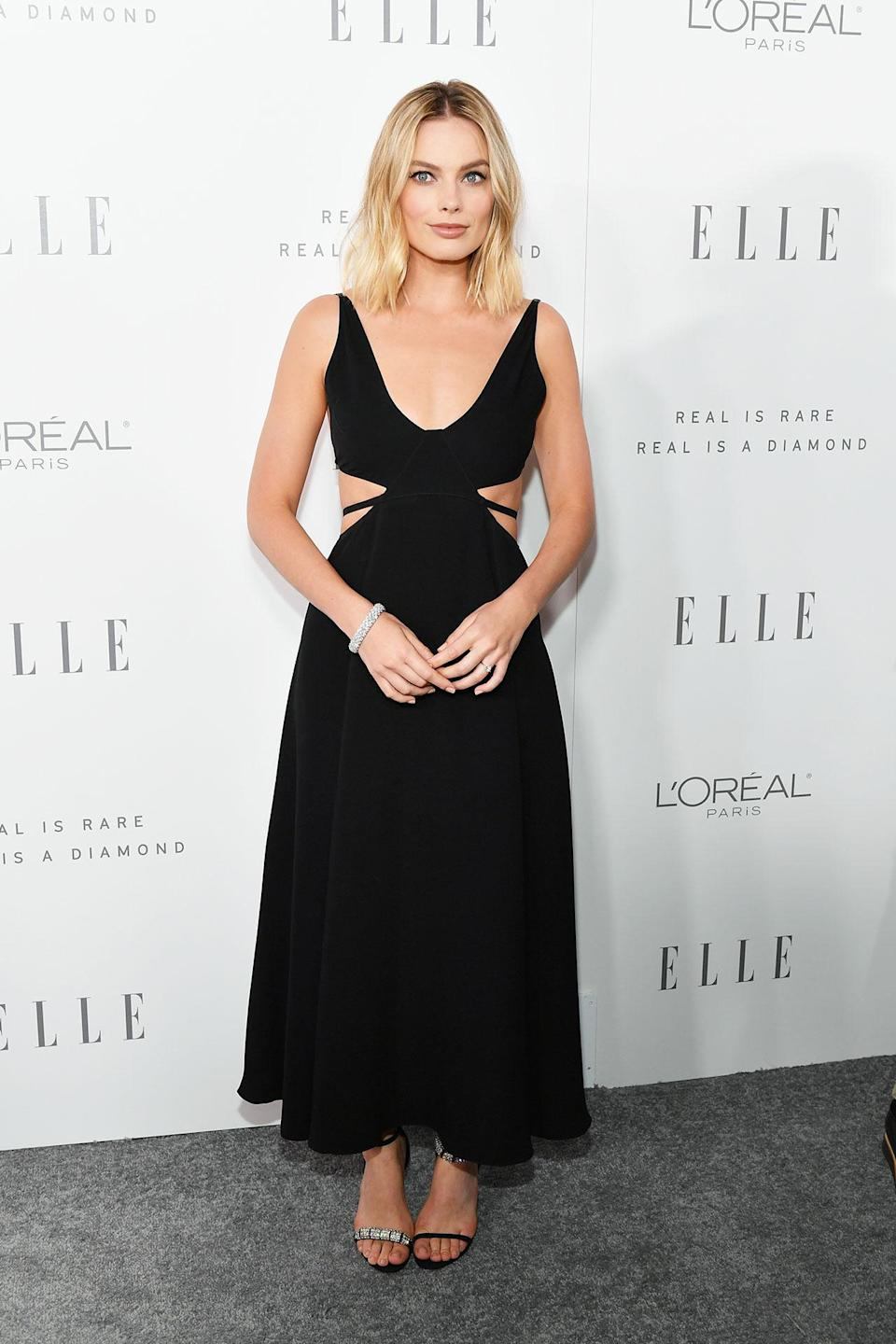 """<h2>In Calvin Klein</h2> <p>At <i>Elle'</i>s 24th Annual Women in Hollywood Celebration in Los Angeles, 2017</p> <h4>Getty Images</h4> <p> <strong>Related Articles</strong> <ul> <li><a rel=""""nofollow noopener"""" href=""""http://thezoereport.com/fashion/style-tips/box-of-style-ways-to-wear-cape-trend/?utm_source=yahoo&utm_medium=syndication"""" target=""""_blank"""" data-ylk=""""slk:The Key Styling Piece Your Wardrobe Needs"""" class=""""link rapid-noclick-resp"""">The Key Styling Piece Your Wardrobe Needs</a></li><li><a rel=""""nofollow noopener"""" href=""""http://thezoereport.com/fashion/shopping/everything-need-let-zoe-giveaway/?utm_source=yahoo&utm_medium=syndication"""" target=""""_blank"""" data-ylk=""""slk:Everything You Need From Our Let It Zoe Giveaway"""" class=""""link rapid-noclick-resp"""">Everything You Need From Our Let It Zoe Giveaway</a></li><li><a rel=""""nofollow noopener"""" href=""""http://thezoereport.com/beauty/celebrity-beauty/josephine-skriver-makeup-tutorial-video-vogue/?utm_source=yahoo&utm_medium=syndication"""" target=""""_blank"""" data-ylk=""""slk:A Victoria's Secret Model Shows Us How To Get Our Lips To Her Level"""" class=""""link rapid-noclick-resp"""">A Victoria's Secret Model Shows Us How To Get Our Lips To Her Level</a></li> </ul> </p>"""