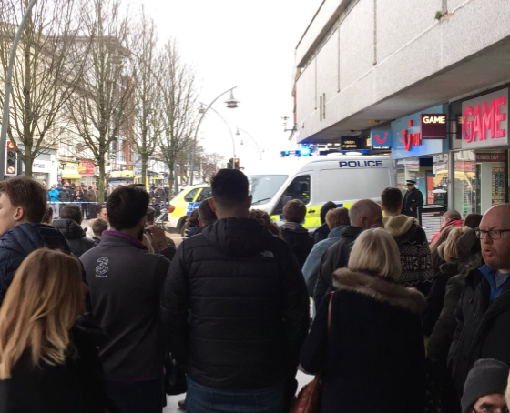 <strong>A man has been arrested on suspicion of murder following an attack on a woman at a TUI store in Southport, Merseyside.</strong> (lrchandley)