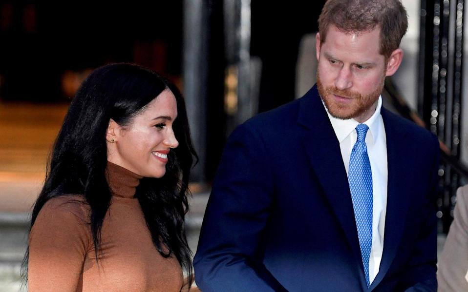 The Duke and Duchess of Sussex - Toby Melville/Reuters