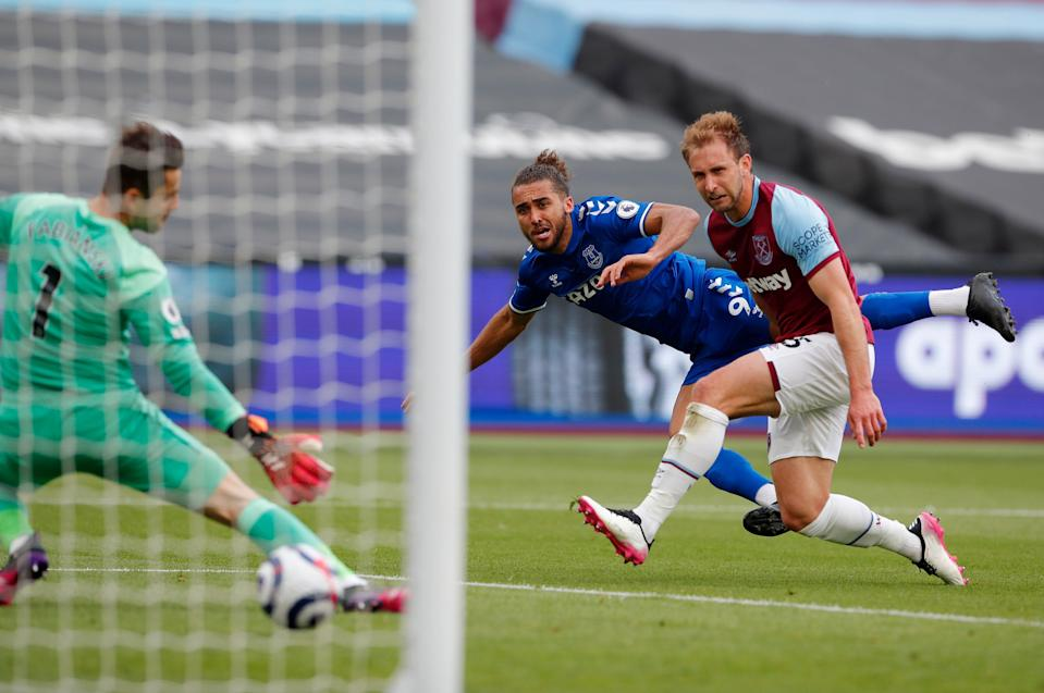 <p>Everton boosted their hopes of qualifying for Europe with a win at West Ham</p> (Getty)