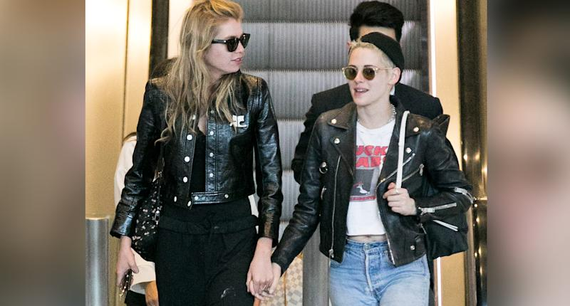 Kristen Stewart and Stella Maxwell. Photo: Getty Images