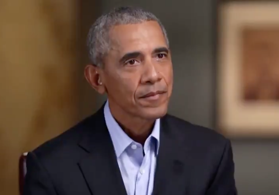 Former president was scathing of Donald Trump (CBS News)