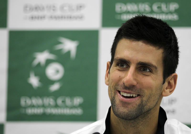 Tipsarevic doubtful for Serbia for Davis Cup final