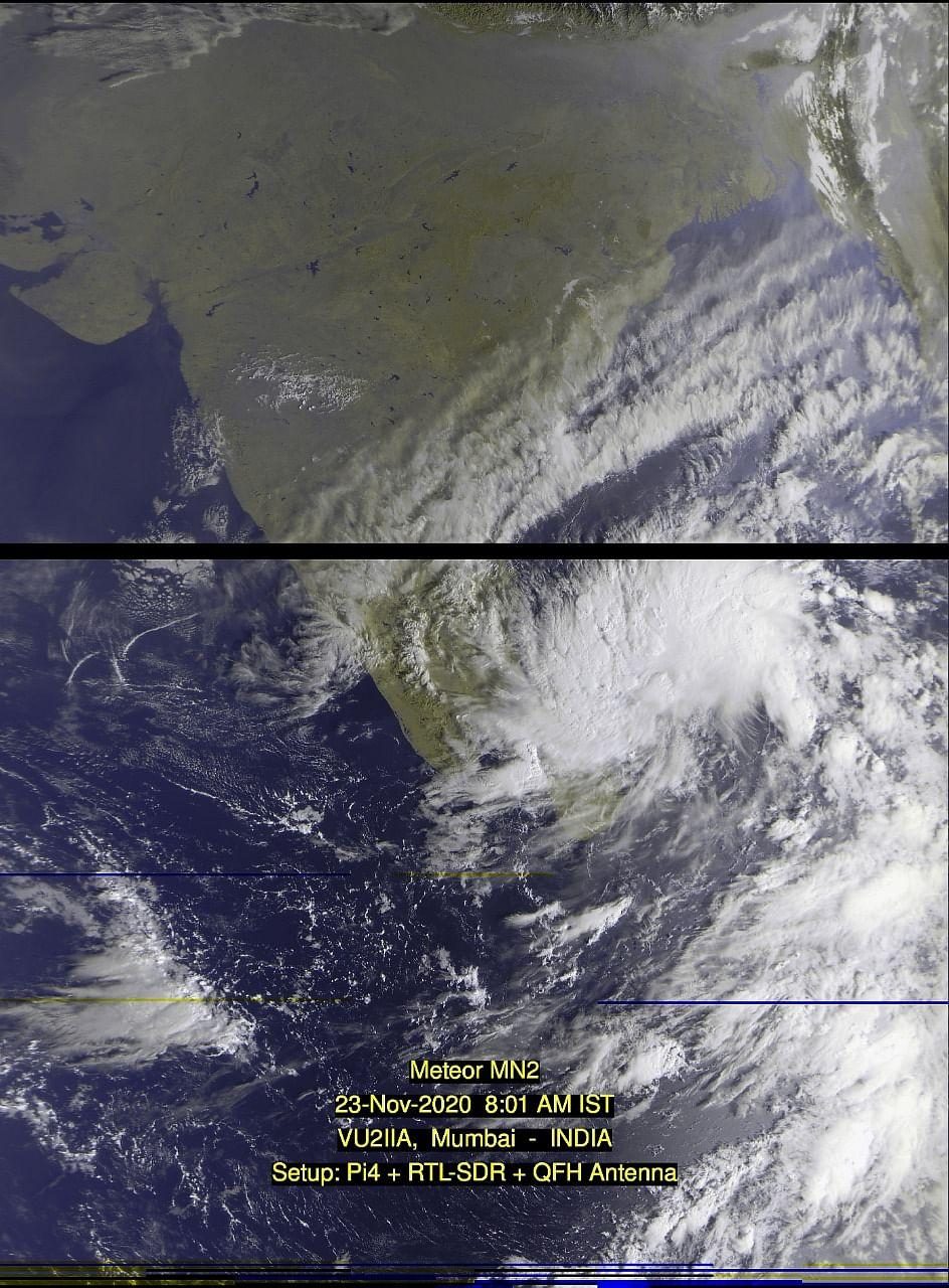 Low pressure area over southwest and adjoining southeast Bay of Bengal persists.