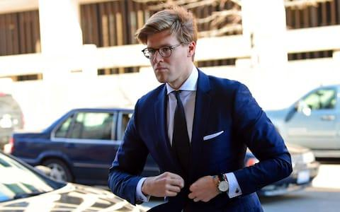 "Robert Mueller, the man leading the Russian election meddling investigation, has charged a lawyer with making false statements to his team.  Alex Van Der Zwaan was charged with ""willfully and knowingly making materially false, fictitious and fraudulent statements"" to investigators.  Mr Van Der Zwaan was an attorney with a law firm which worked with Ukraine's justice ministry in a case against the politician Yulia Tymoshenko.  The lawyer had communications with Robert Gates, a Donald Trump campaign aide who was charged alongside colleague Paul Manafort by Mr Mueller's team last year.  Alex Van Der Zwaan arrives at Federal District Court in Washington Credit: AP Photo/Susan Walsh There have been reports over the weekend that Mr Gates has struck a bargain with investigators and is prepared to plead guilty – though nothing has been announced.  Mr Van Der Zwaan was charged on February 16 in federal court in Washington and news of the move emerged on Tuesday.  It is unclear exactly how Mr Van Der Zwaan fits into Mr Mueller's wider investigation, which is looking into how Russia interfered in the US election of 2016.  Mr Van Der Zwaan, 33, worked in London with the New York law firm Skadden, Arps, Slate, Meagher & Flom."
