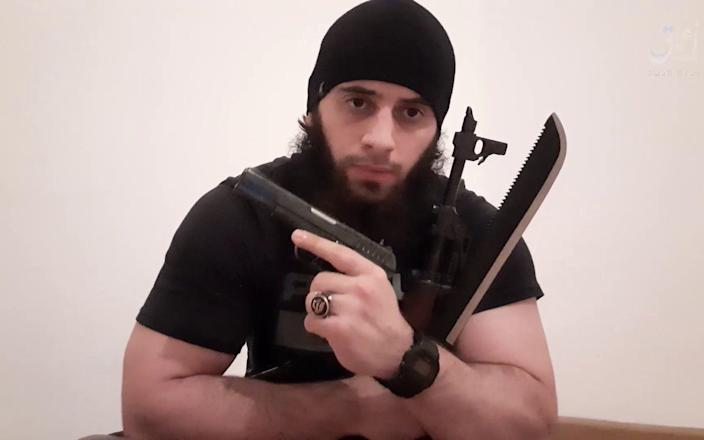 The attacker uploaded a picture of himself to Instagram before the attack