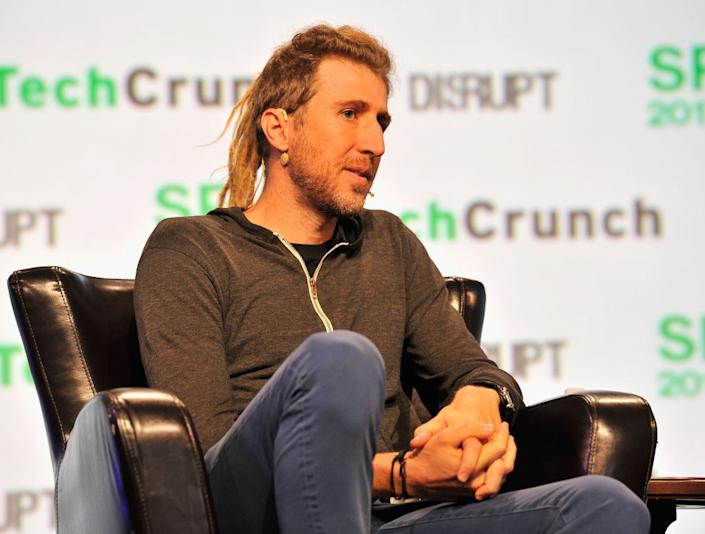 """Signal's founder Moxie Marlinspike during a TechCrunch event on September 18, 2017 in San Francisco, California.<span class=""""copyright"""">Steve Jennings/Getty Images for TechCrunch</span>"""