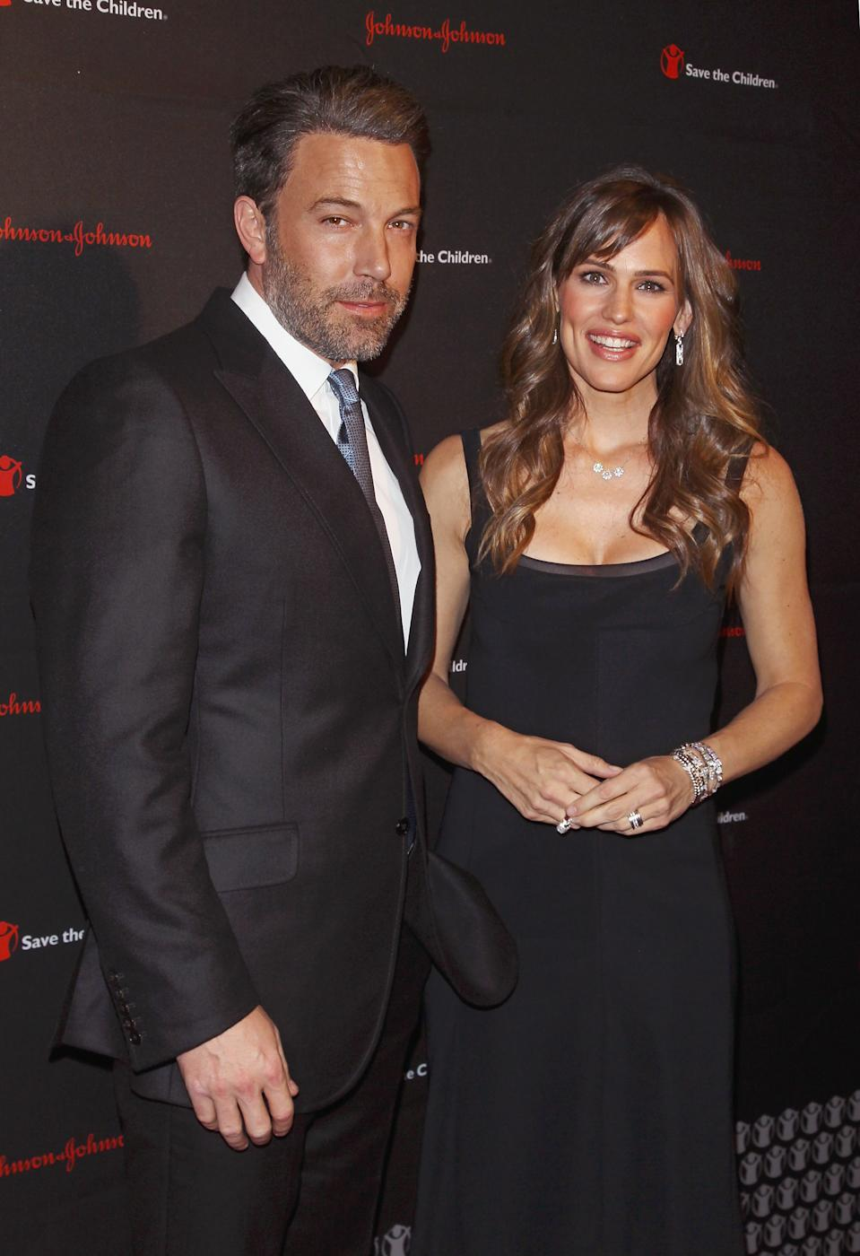 Ben Affleck and Jennifer Garner attend the 2nd annual Save the Children Illumination Gala at the Plaza Hotel on November 19, 2014 in New York City.  (Photo by Jim Spellman/WireImage)
