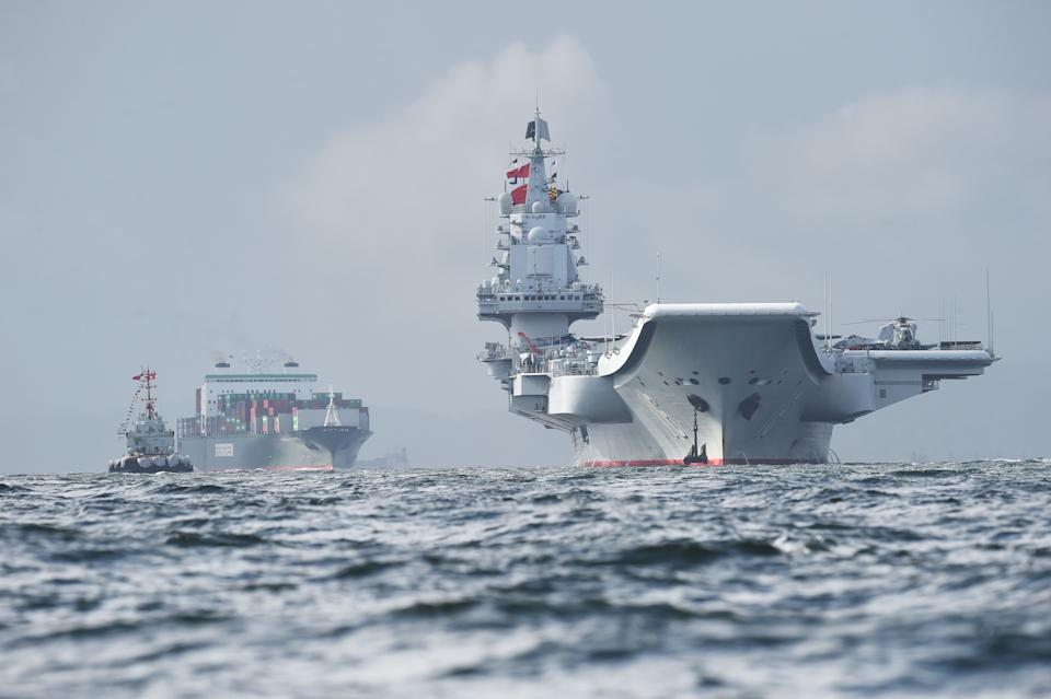 China has increased activity around the Taiwan Strait. Source: Getty