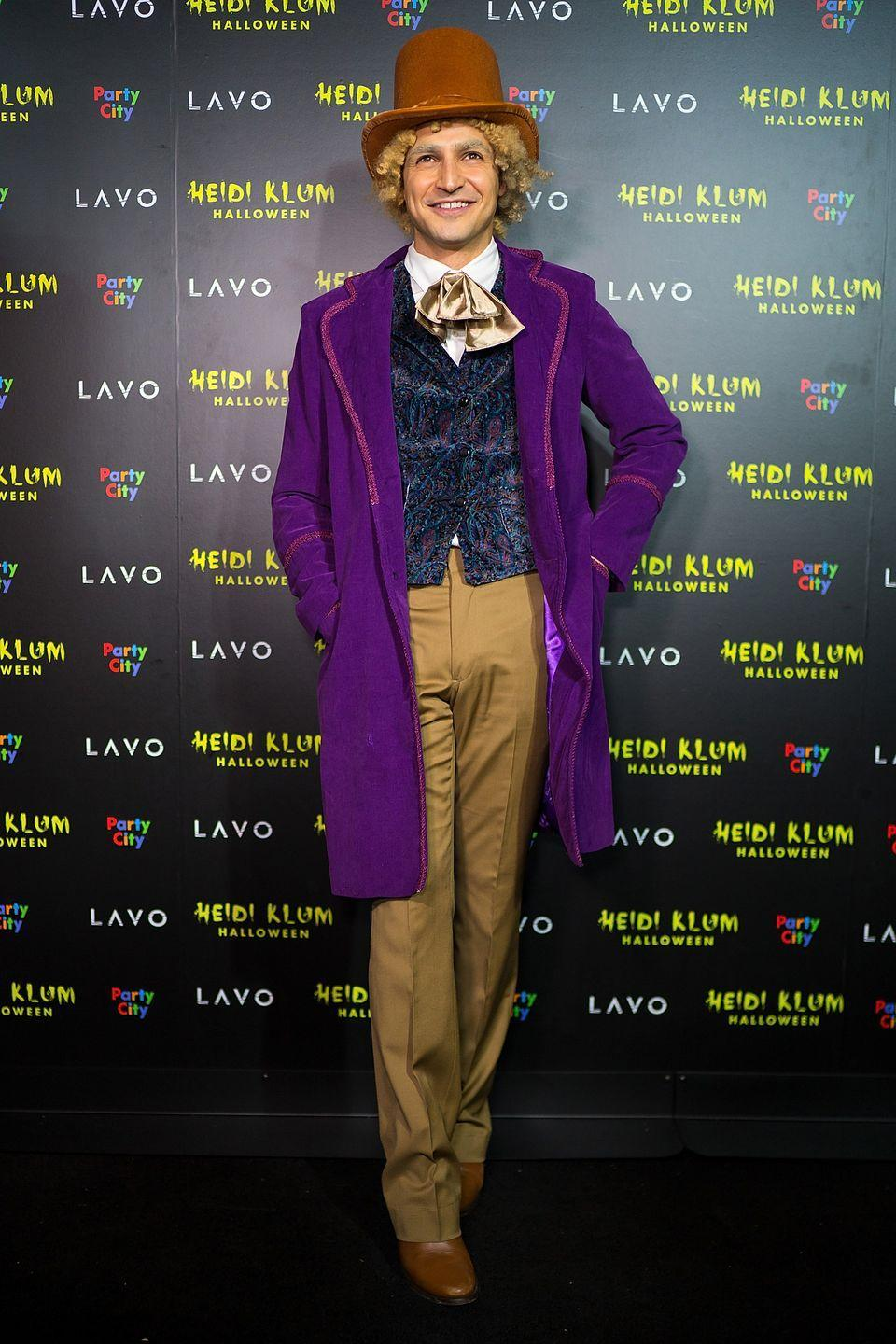 <p>As Willy Wonka.</p>