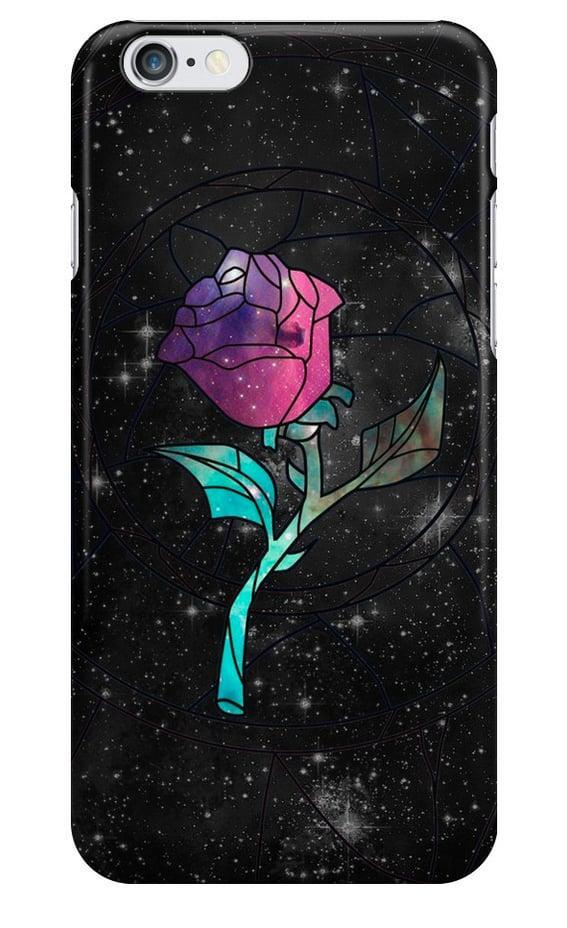 <p>How stunning is this <span>Beauty and the Beast Stained Glass Rose Galaxy Case</span> ($22)!?</p>