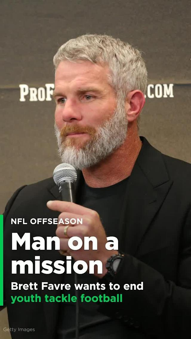 Now 48, with the last of his retirements fading in the distance, Brett Favre has turned his attention to a crucial issue: the trauma caused by repeated concussions.